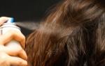 Использование спрея против выпадения волос