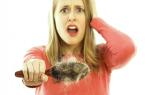 Диффузный тип выпадения волос у женщин
