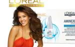 Сила ампул L'Oreal против выпадения волос