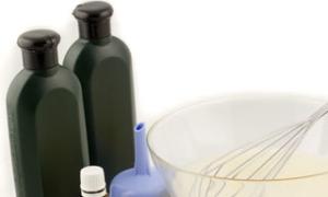 Как самостоятельно сделать шампунь от выпадения волос дома