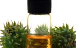 От выпадения волос спасет касторовое масло