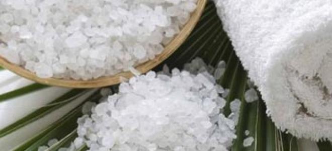 Выпадение волос уменьшит соль